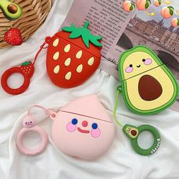3D Cute Silicone Cartoon Charging Case Earbuds Protector Cov