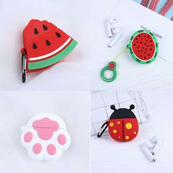 3D Cute Silicone Case For Apple Airpods Earbuds Earphone Pro
