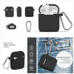 AirPods Case , GMYLE Silicone Protective Shockproof Earbuds