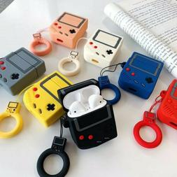 Apple Airpods Gameboy silicone case for earbuds 3d design di
