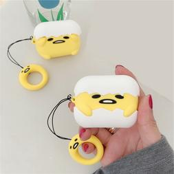 Airpods Pro Silicone Case Cute Egg Gudetama Doll Cover for A