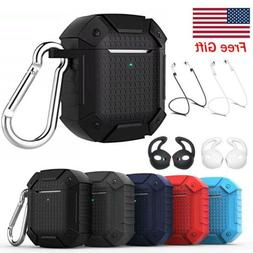 For Apple Airpods 1st / 2nd Case Hybrid Armor Rugged Protect