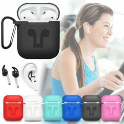 For Apple AirPods 2nd Gen Accessories Silicone Case Cover +