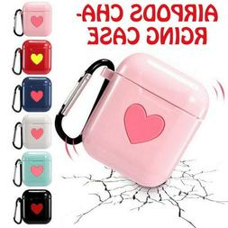 For Apple Airpods Charging Case Earbuds Protector Cute Heart