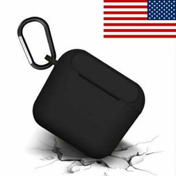 Black Silicone Earbuds Case Cover Storage Box For Skull Cand