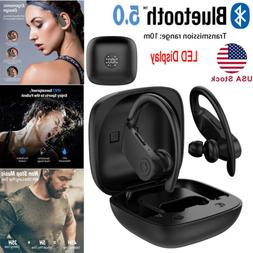 Bluetooth 5.0 Wireless Earbuds with Wireless Charging Case S