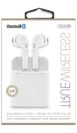 SENTRY BT979W TRUE-WIRELESS EARBUDS WITH CHARGING CASE - WHI