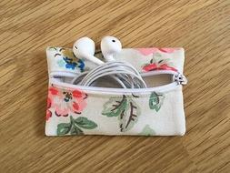 Handmade Earphone Earbud Case Pouch Made With Cath Kidston R