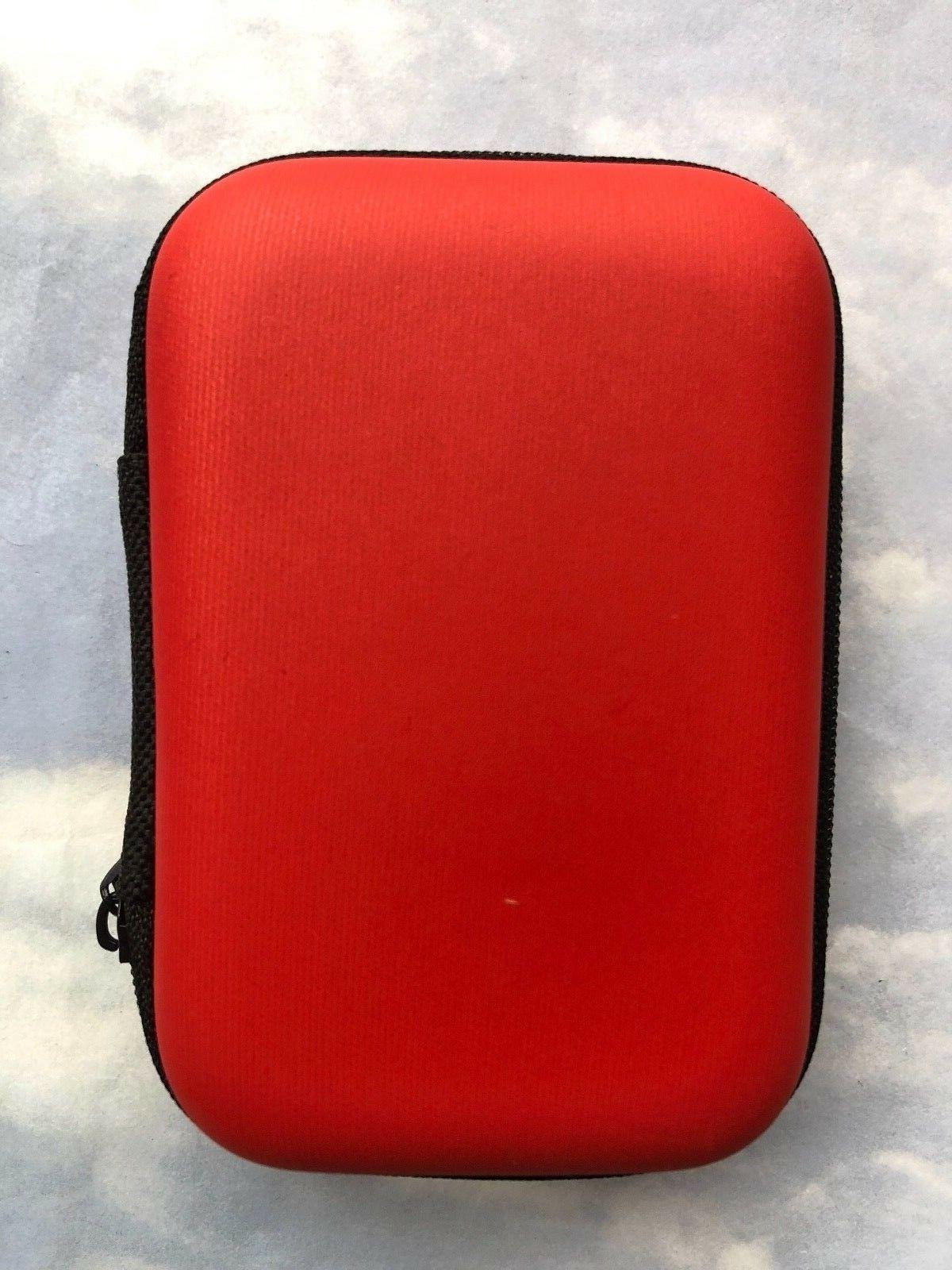 2 Small Earphone Earbud accessory Carrying Case Storage Bag