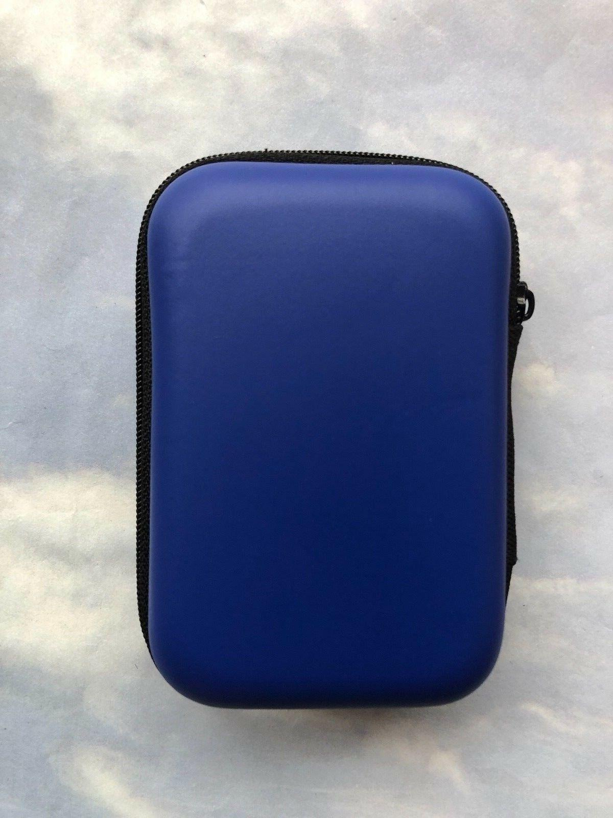 2 Small Earbud Carrying Hard Bag