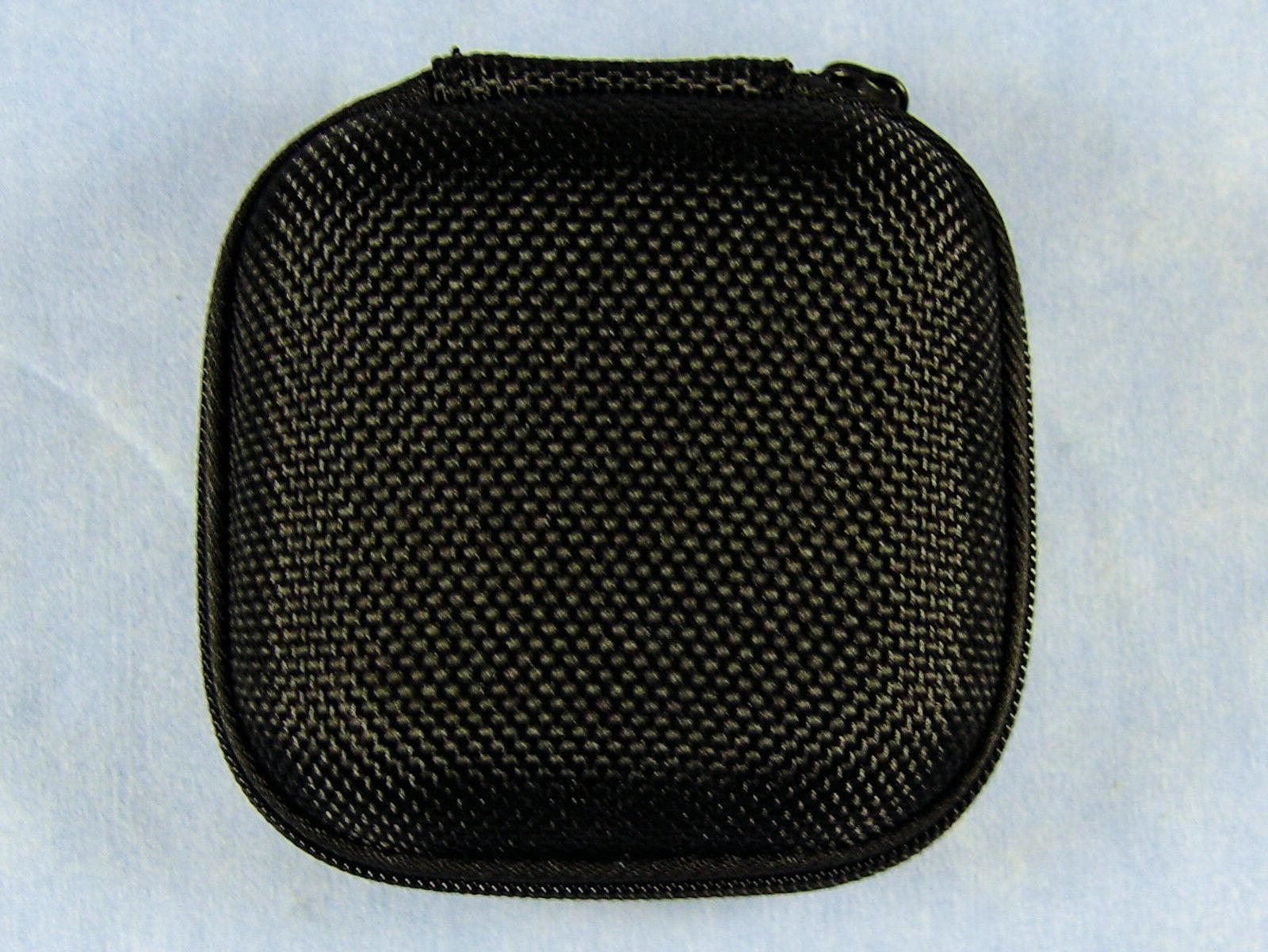 Shure OEM Zippered Black Case for Earbuds,