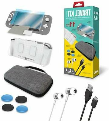 travel kit cases screen protector earbuds cable