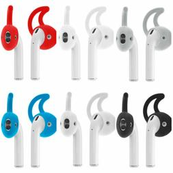 Silicone Ear Hooks Earbuds Skin Case Cover Holder For Apple