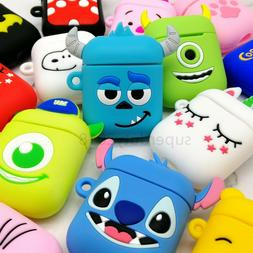 Wireless Earbuds Case Cartoon Silicone Cover case For Earpho